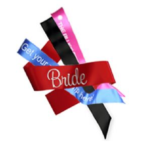 Printable Sashes - Red, Blue & Black